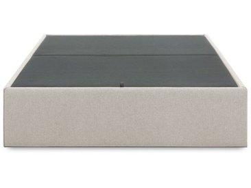 Sommier coffre Matter 90 x 190 cm beige