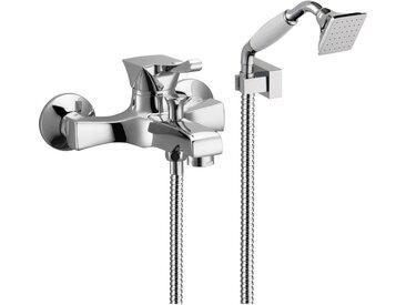 Mitigeur bain de levier avec douche duplex Effepi CHIC 42008 | Or