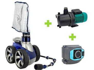 Pack Polaris 3900 Sport - Multipool N + Coffret de Polaris - Robot piscine hydraulique
