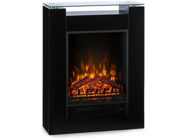 Klarstein Studio 5 Cheminée électrique radiateur soufflant 900W /1800W - noir