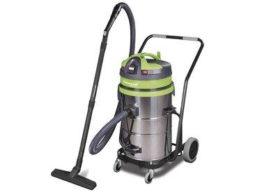 Aspirateur sans sac industriel 1150W, 62L (eau et poussière) WETCAT 262 IET - Cleancraft