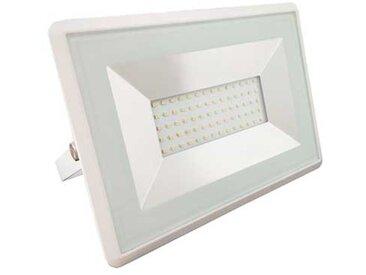 V-TAC VT-4051 projecteur led smd 50W blanc froid 6500K E-Series ultra slim blanc IP65 - SKU 5963