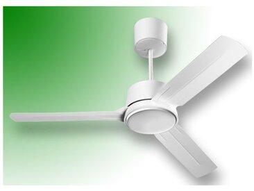 """vortice ventilateur de plafond nordik eco 200/80"""" blanc 61065"""