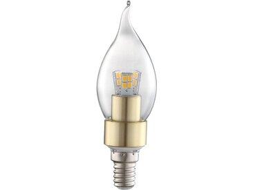 Ampoule LED 4 watts E14, 320 lumens, bougie, blanc chaud