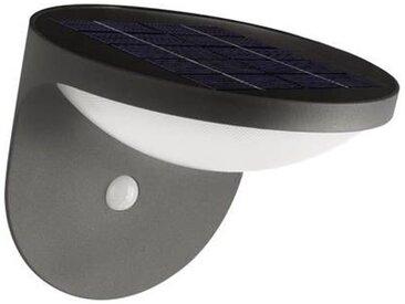 Applique solaire extérieure avec détecteur de mouvement Philips Lighting Dusk 17808/93/16 1.5 W blanc chaud anthracite 1 pc(s)