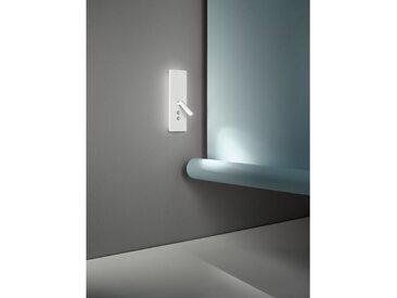 Applique 2 lumières LED et prise USB cm 0 PERENZ 6638 B LC