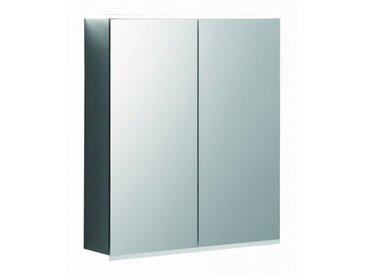 Geberit Armoire de toilette Geberit Option Plus Plus avec éclairage, deux portes, largeur 60cm, 500593001 - 500.593.00.1