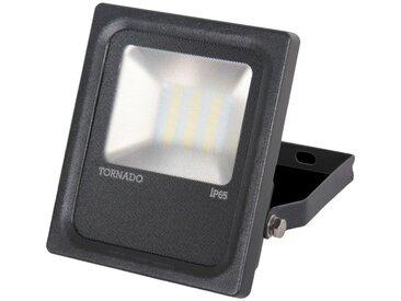 Projecteur extérieur Led 20W noir sans détection 150X234X53mm 4000K 1600lm 230V 120° IP65 IK08 TORNADO TRAJECTOIRE 003725