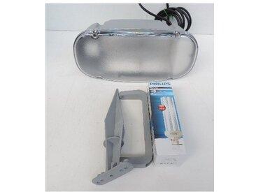 Projecteur extérieur fluo 42W gris orientable 290X130mm avec piquet lampe 3000K 2300lm GX24q-4 ballast 230V IP66 BEAR 705020