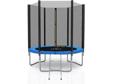 Trampoline extérieur Deluxe 6Ft / ø185cm Bleu - Jump4fun
