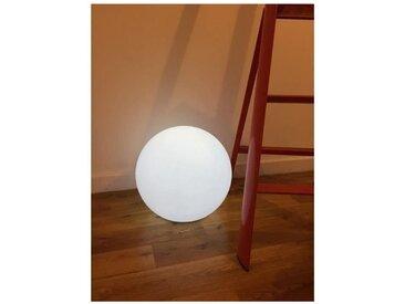 LUMISKY Boule lumineuse E27 sur secteur 40 cm - Blanc