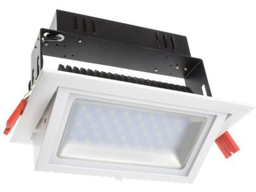 Projecteur LED SAMSUNG 120lm/W Orientable Rectangulaire 20W LIFUD Blanc Chaud 3000K Non Dimmable