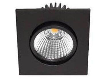 Al1014 sdx 9w 820lm 3000k 38° ip44 dim noir mat (DO16205)