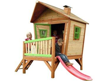 Iris Playhouse: Maisonnette pour enfants, fenêtres intégrées et bois très résistant