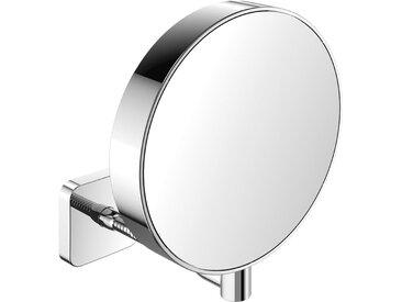 Emco Miroir à raser et miroir cosmétique 109500114 réfléchissant des deux côtés, grossissement 3x et 7x, rond, non éclairé - 109500114