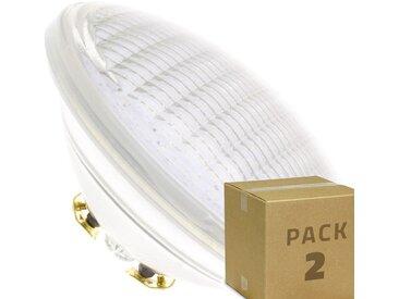 PACK Ampoule LED Submersible PAR56 35W (2 Un) Blanc Froid 6000K - 6500K