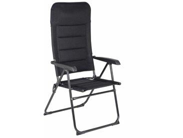 Red Mountain Chaise de camping réglable Verona Noir