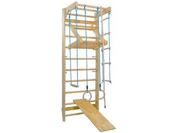 Hommoo Aire de jeu intérieure d'escalade avec anneau d'échelles Bois