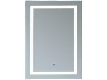 Miroir lumineux LED salle de bain 38 W interrupteur tactile 60L x 4l x 80H cm