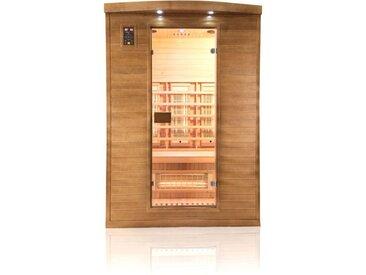 Sauna infrarouge Spectra 2 places - France Sauna - 140x125x200cm