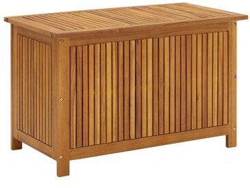 Boîte de rangement de jardin 90x50x106 cm Bois d'acacia solide