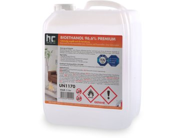 16 x 5 Litre Bioéthanol à 96,6 % dénaturé en bidon de 5 litres