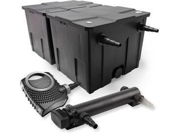 SunSun DruckTeichfilter Set 30000l 18W UVC NEO8000 70W Schlauch Skimmer SK30