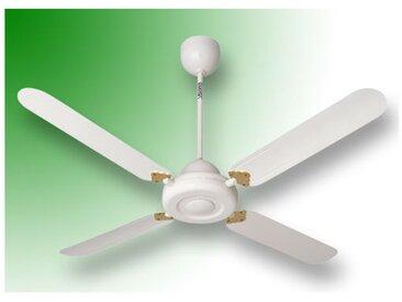 vortice ventilateur plafond nordik decor is 90/36 blanc 61052