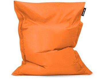 Bazaar Bag Coussin de Sol Pour Pouf Géant - Orange, 180cm x 140cm, Résistant à l'eau, Poufs d'intérieur et d'extérieur - Orange