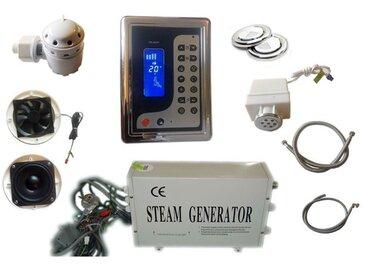 Kit hammam petit volume générateur vapeur 2,8kw affichage LCD avec accessoires