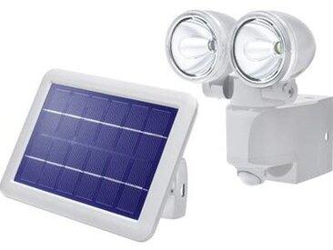 Spot solaire avec détecteur de mouvements Esotec Power Light blanc froid gris