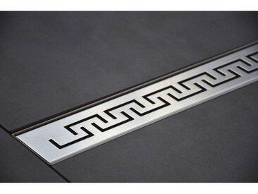 70 cm mod�le Grec - Caniveau de Douche Italienne Inox