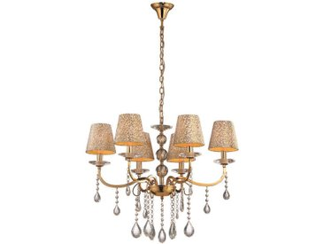 Ideal Lux - Chandelier PANTHEON Or 6x40W