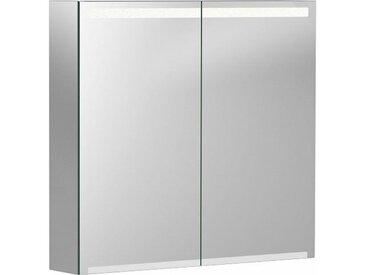 Geberit Armoire de toilette Geberit Option avec éclairage, deux portes, largeur 75 cm, 500205001 - 500.205.00.1