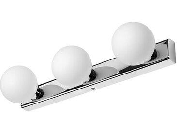 Applique Salle de Bain Classe 2 blanc Coulisse 3 lumi�res LED