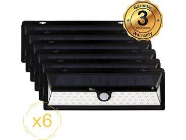 Lampe solaire LED murale EZIlight® Solar xl - Pack de 6 lampes