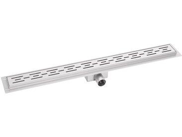 Caniveau de douche 90cm bp03 - Profil de lineaire - evacuation d eau - siphon de sol - acier inoxydable