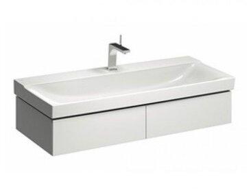Geberit Geberit Xeno 2 Waschtischunterschrank 500.517., 1174x220x462mm, 2 Schubladen, Coloris: Laque brillante blanche - 500.517.01.1