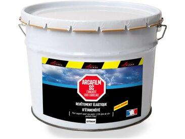 Résine d'étancheite sous carrelage extérieur pour support avec pente HAUTE DURABILITE - ARCAFILM SC   gris - 10l