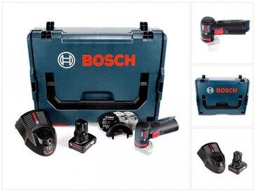 Bosch GWS 12V-76 Professional Meuleuse angulaire sans fil avec boîtier L-Boxx mit 1x Batterie GBA 6,0 Ah + 1x Chargeur GAL 1230