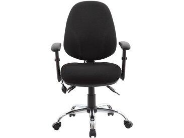 Chaise d'atelier pivotante Ergo Operator - ergonomique, noir - Coloris: noir
