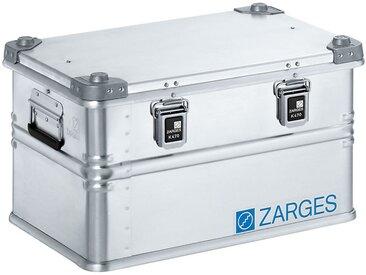 ZARGES Caisse de transport en aluminium - modèle robuste - capacité 60 l, L x l x h int. 550 x 350 x 310 mm