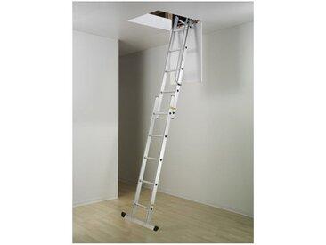 Escalier Direct-matisere - Echelle escamotable 3 plans - Haut. du sol au sol supérieur 3.00m