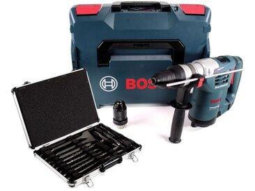 Bosch Professional GBH 4-32 DFR 900 W Perforateur 4 niveaux SDS + Porte outils + Coffret L-Boxx + 17pcs. SDS-Plus Set de Forets et Burin dans Alumunium Valise