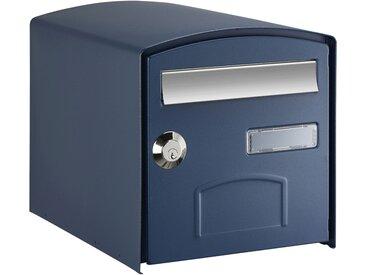 Boîte aux lettres double face DOME - Bleu