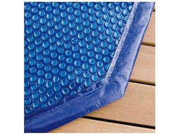Bâche à bulles pour piscine bois Ubbink octogonale allongée Modèle - Lagon 8,20 x 4,70m octogonale allongée