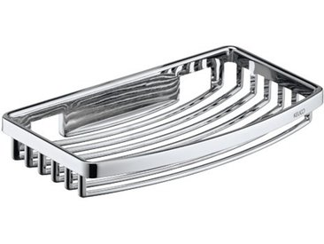 Panier à savon en éponge 24942, modèle en fil, amovible, hauteur : 28mm, chromé - 24942010000 - Keuco
