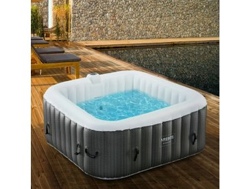 In-Outdoor Whirlpool Spa Piscine Massage bien-être Gonflage automatique - Arebos