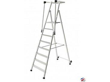 Tubesca - Marchepied aluminium 8 marches hauteur d'accès 3,90 m - Magnum 3
