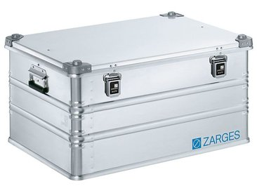 ZARGES Caisse de transport en aluminium - modèle robuste - capacité 157 l, L x l x h int. 750 x 550 x 380 mm